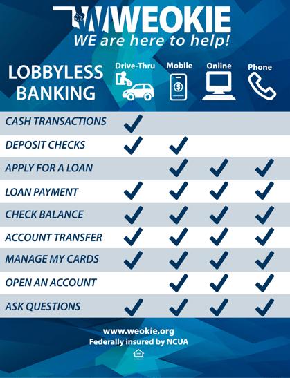 Lobbyless banking
