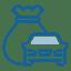 car and money savings bag