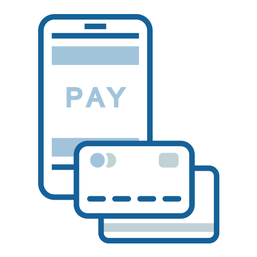 Use Apple Pay, Google Pay and Samsung Pay