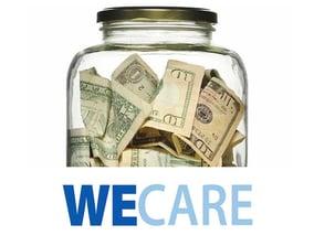 We Care Savings in Jar