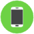 mobile phone icon_green