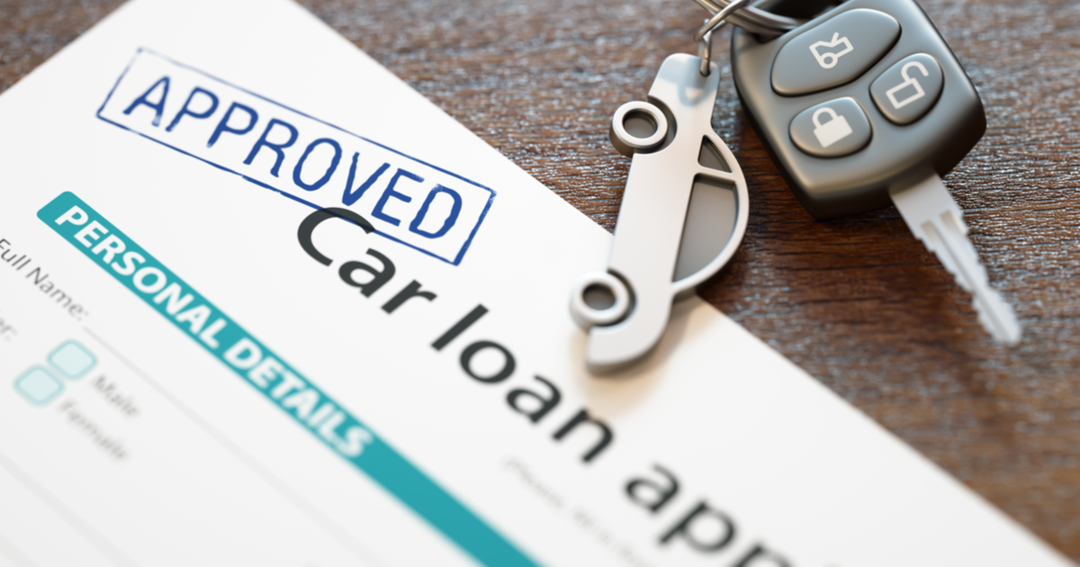 Car loan financing with a credit union