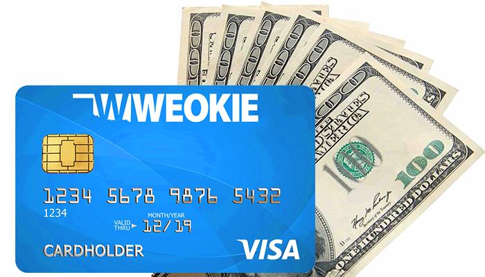 WEOKIE-Debit--with-$500-Dollars