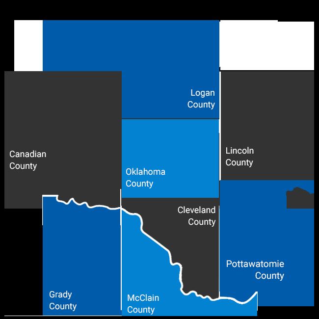 OK County Map